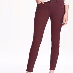 old navy | rockstar mid-rise skinny jeans sz 12